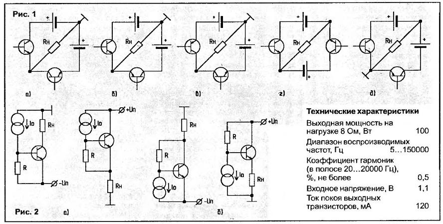 большинство транзисторных
